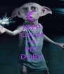 KEEP CALM AND PET DOBY - Personalised Poster A4 size
