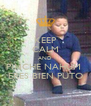KEEP CALM AND PINCHE NAHUM  ERES BIEN PUTO - Personalised Poster A4 size