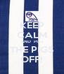 KEEP CALM AND  PISS THE PIGS OFF! - Personalised Poster A4 size