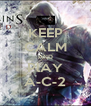 KEEP CALM AND PlAY A-C-2 - Personalised Poster A4 size