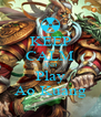 KEEP CALM AND Play Ao Kuang - Personalised Poster A4 size