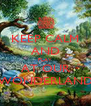 KEEP CALM AND PLAY AT OUR WONDERLAND - Personalised Poster A4 size