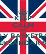 KEEP CALM AND PLAY BASKETBALL LIKE ALEKSANDAR STERJOV - Personalised Poster A4 size
