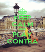 KEEP CALM AND PLAY CONTRA - Personalised Poster A4 size