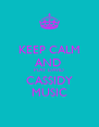 KEEP CALM AND  PLAY  DAVID CASSIDY  MUSIC  - Personalised Poster A4 size