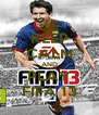 KEEP CALM AND PLAY FIFA 13 - Personalised Poster A4 size