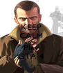 KEEP CALM And Play GTA 4 - Personalised Poster A4 size