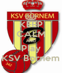 KEEP CALM AND Play KSV Bornem - Personalised Poster A4 size
