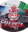 KEEP CALM AND PLAY M GAMES - Personalised Poster A4 size