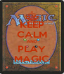 KEEP CALM AND PLAY MAGIC - Personalised Poster A4 size