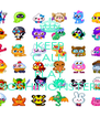 KEEP CALM AND PLAY MOSHIMONSTERS - Personalised Poster A4 size