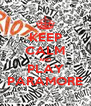 KEEP CALM AND PLAY PARAMORE - Personalised Poster A4 size