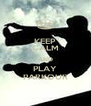KEEP CALM AND PLAY PARKOUR - Personalised Poster A4 size