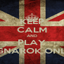 KEEP CALM AND PLAY RAGNAROK ONLINE - Personalised Poster A4 size