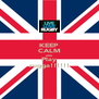 KEEP CALM AND Play rugga!!!!!! - Personalised Poster A4 size