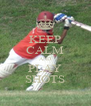 KEEP CALM AND PLAY SHOTS - Personalised Poster A4 size