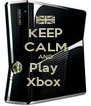 KEEP CALM AND Play  Xbox  - Personalised Poster A4 size