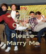 KEEP CALM AND Please Marry Me - Personalised Poster A4 size