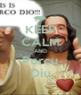 KEEP CALM AND Porcu Diu - Personalised Poster A4 size