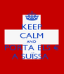 KEEP CALM AND PORTA ELS € A SUÏSSA  - Personalised Poster A4 size
