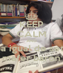 KEEP CALM AND Posa igual de setsi a mafer baron - Personalised Poster A4 size