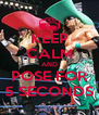 KEEP CALM AND POSE FOR 5 SECONDS - Personalised Poster A4 size