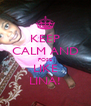 KEEP CALM AND POSE LIKE LINA! - Personalised Poster A4 size