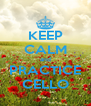 KEEP CALM and PRACTICE CELLO - Personalised Poster A4 size
