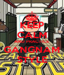 KEEP CALM AND PRACTICE GANGNAM STYLE - Personalised Poster A4 size