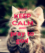 KEEP CALM AND pray to god - Personalised Poster A4 size