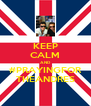 KEEP CALM AND #PRAYINGFOR THEANDRES - Personalised Poster A4 size