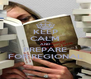 KEEP CALM AND PREPARE FOR REGIONAL - Personalised Poster A4 size