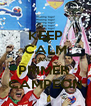 KEEP CALM AND PRIMER  CAMPEON - Personalised Poster A4 size