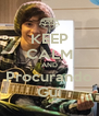 KEEP CALM AND Procurando Gui - Personalised Poster A4 size