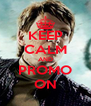 KEEP CALM AND PROMO ON - Personalised Poster A4 size