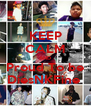 KEEP CALM AND Proud To be DiesNKFine  - Personalised Poster A4 size