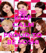 KEEP CALM AND PROUD TO BE SOSHI - Personalised Poster A4 size