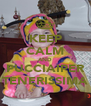 KEEP CALM AND PUCCIAIPER TENERISSIMA - Personalised Poster A4 size