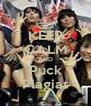 KEEP CALM AND Puck Plagiat - Personalised Poster A4 size