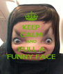 KEEP CALM AND PULL A FUNNY FACE - Personalised Poster A4 size