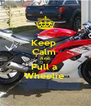 Keep  Calm  And  Pull a  Wheelie  - Personalised Poster A4 size