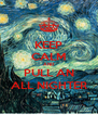 KEEP CALM AND PULL AN ALL NIGHTER - Personalised Poster A4 size