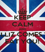 KEEP CALM AND PULLIZ COMES TO EAT YOU! - Personalised Poster A4 size