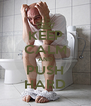 KEEP CALM AND PUSH HARD - Personalised Poster A4 size