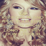 KEEP CALM AND PUT YOUR LIPS CLOSE TO MINE AS LONG AS THEY DON'T TOUCH - Personalised Poster A4 size