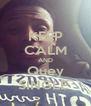 KEEP CALM AND Quey SINGLE  - Personalised Poster A4 size