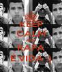 KEEP CALM AND RAFA É VIDA :) - Personalised Poster A4 size