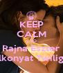 KEEP CALM AND Rajna Eszter Alkonyat Twilight - Personalised Poster A4 size