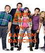 KEEP CALM AND... RANDOM DANCING - Personalised Poster A4 size