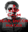 KEEP CALM AND RASTREAR, ENCONTRAR MATAR - Personalised Poster A4 size